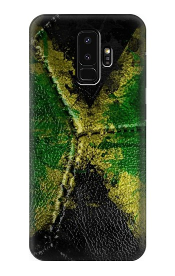Printed Jamaica Flag Vintage Football 2018 Samsung Galaxy S9+ Case