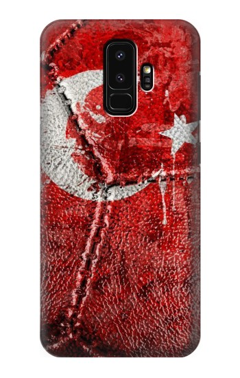 Printed Turkey Flag Vintage Football 2018 Samsung Galaxy S9+ Case