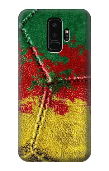 Printed Senegal Flag Vintage Football 2018 Samsung Galaxy S9+ Case