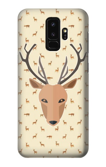 Printed Deer Pattern Samsung Galaxy S9+ Case