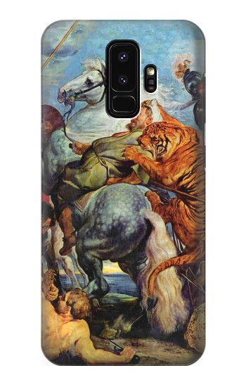 Printed Peter Paul Rubens Tiger und Lowenjagd Samsung Galaxy S9+ Case
