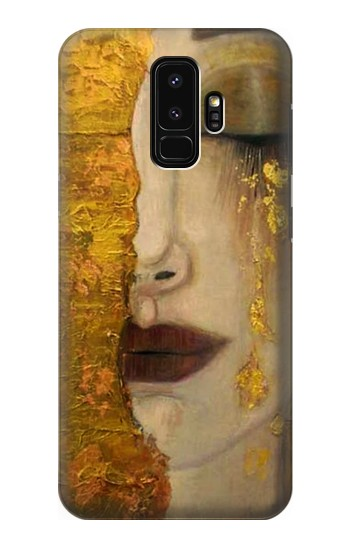 Printed Gustav Klimt Golden Tears Samsung Galaxy S9+ Case