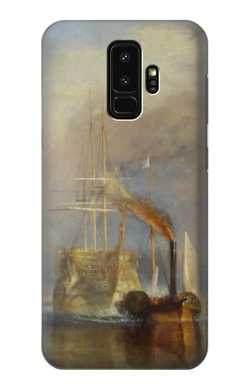 Printed Joseph Mallord William Turner The Fighting Temeraire Samsung Galaxy S9+ Case