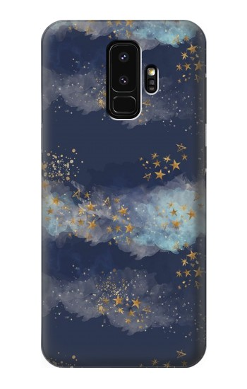 Printed Gold Star Sky Samsung Galaxy S9+ Case