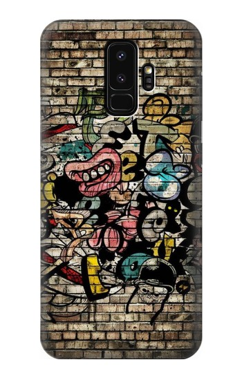 Printed Graffiti Wall Samsung Galaxy S9+ Case