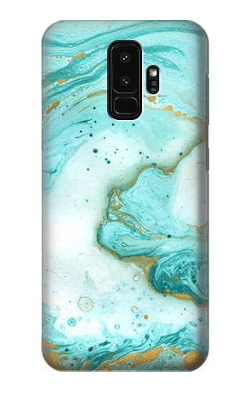 Printed Green Marble Graphic Print Samsung Galaxy S9+ Case