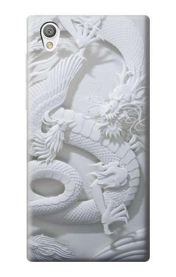 Printed Dragon Carving Sony Xperia C4 Case