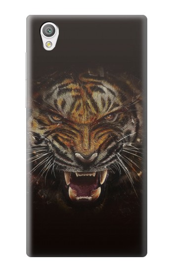 Printed Tiger Face Sony Xperia C4 Case