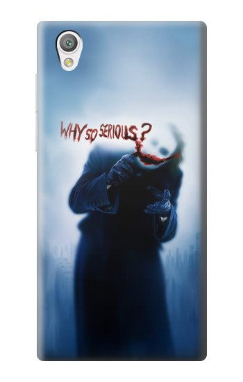 Printed Batman Joker Why So Serious Sony Xperia C4 Case