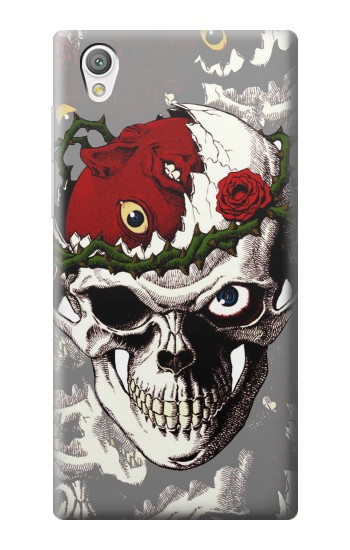 Printed Berserk Skull Beherit Egg Tattoo Sony Xperia C4 Case