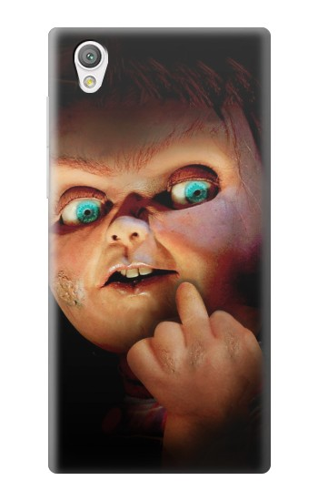 Printed Chucky Middle Finger Sony Xperia C4 Case