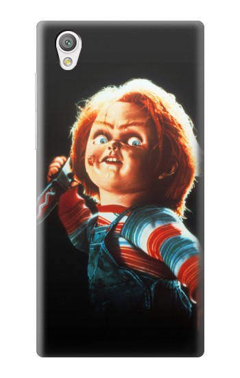 Printed Chucky With Knife Sony Xperia C4 Case