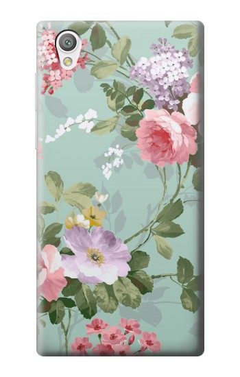 Printed Flower Floral Art Painting Sony Xperia C4 Case