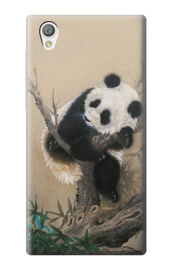 Printed Panda Fluffy Art Painting Sony Xperia C4 Case