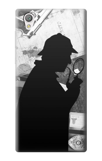 Printed Detective Sherlock Holmes Sony Xperia C4 Case
