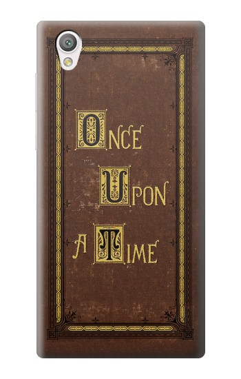 Printed Once Upon a Time Book Cover Sony Xperia C4 Case