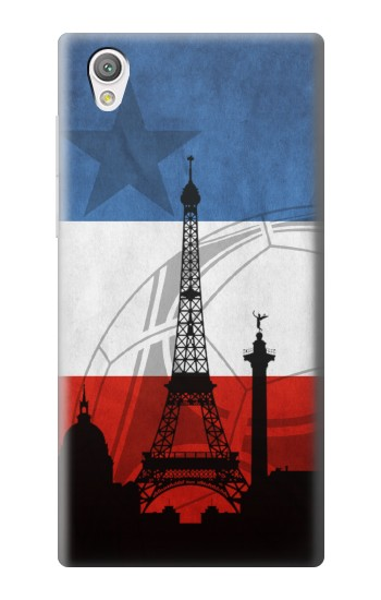 Printed France Football Flag Sony Xperia C4 Case