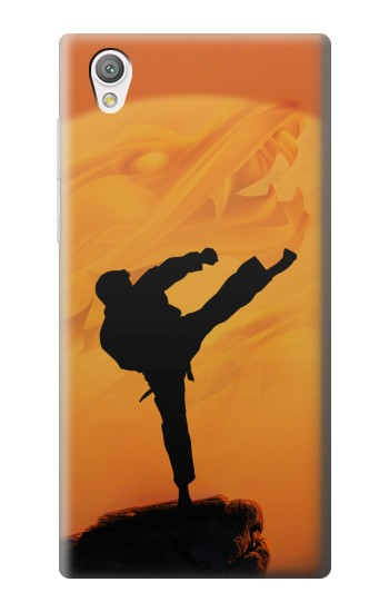 Printed Kung Fu Karate Fighter Sony Xperia C4 Case