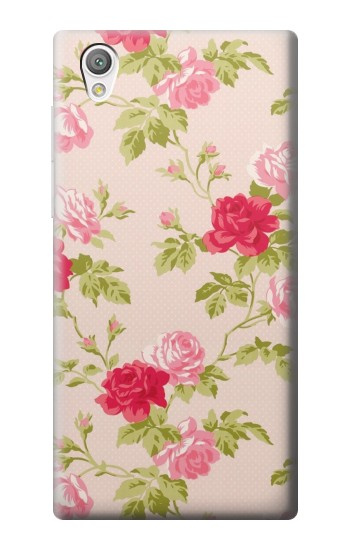Printed Pretty Rose Cottage Flora Sony Xperia C4 Case