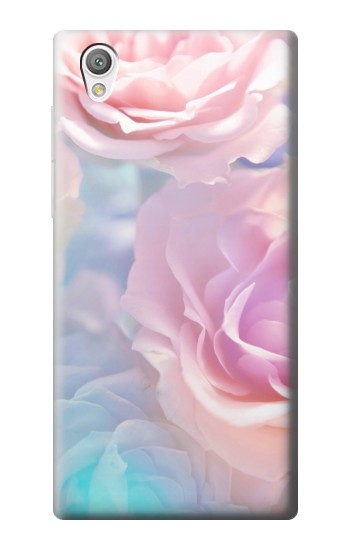 Printed Vintage Pastel Flowers Sony Xperia C4 Case