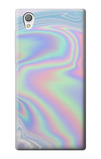 Printed Pastel Holographic Photo Printed Sony Xperia C4 Case