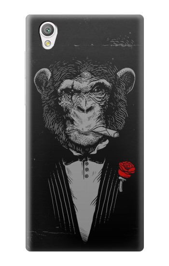 Printed Funny Monkey God Father Sony Xperia C4 Case