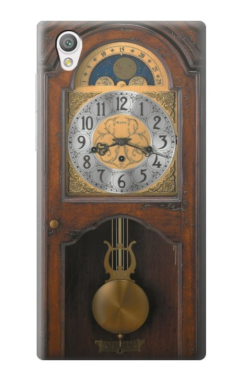 Printed Grandfather Clock Antique Wall Clock Sony Xperia C4 Case