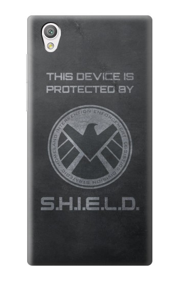 Printed This Device is Protected by Shield Sony Xperia C4 Case