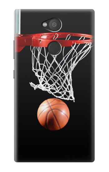 Printed Basketball Sony Xperia L2 Case