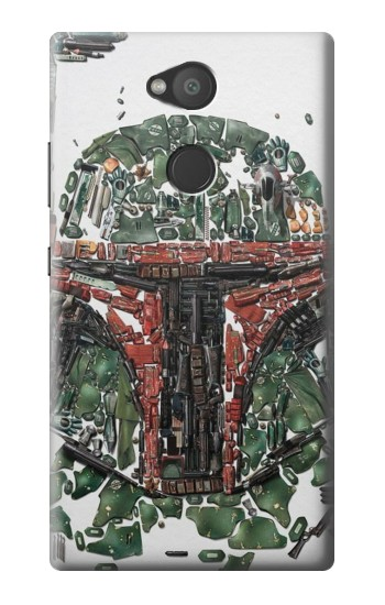 Printed Star War Soldier Sony Xperia L2 Case