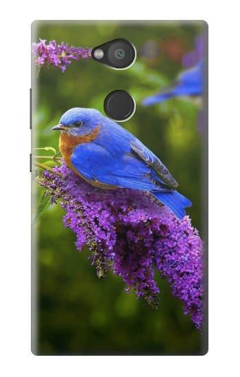 Printed Bluebird of Happiness Blue Bird Sony Xperia L2 Case