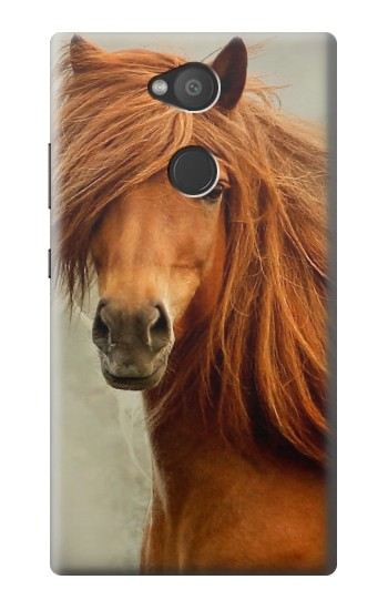 Printed Beautiful Brown Horse Sony Xperia L2 Case