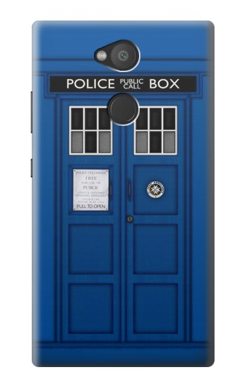 Printed Doctor Who Tardis Sony Xperia L2 Case