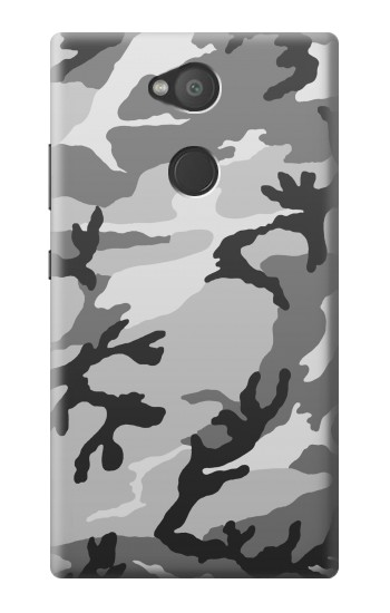 Printed Snow Camo Camouflage Graphic Printed Sony Xperia L2 Case