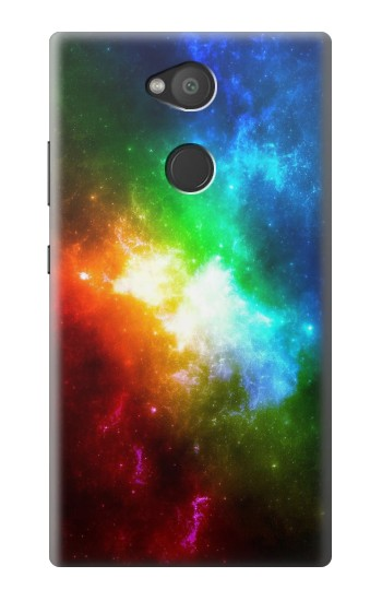 Printed Colorful Rainbow Space Galaxy Sony Xperia L2 Case