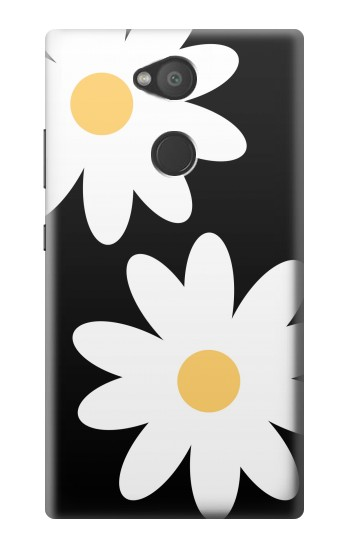 Printed Daisy White Flowers Sony Xperia L2 Case