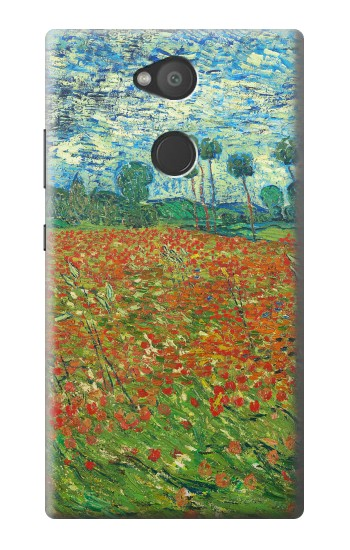 Printed Field Of Poppies Vincent Van Gogh Sony Xperia L2 Case