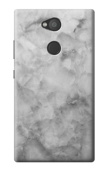 Printed Gray Marble Texture Sony Xperia L2 Case