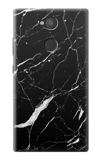 Printed Black Marble Graphic Printed Sony Xperia L2 Case