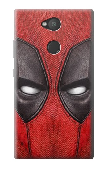 Printed Deadpool Mask Sony Xperia L2 Case