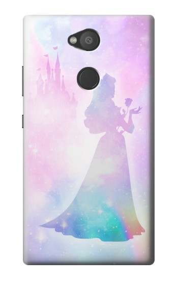 Printed Princess Pastel Silhouette Sony Xperia L2 Case