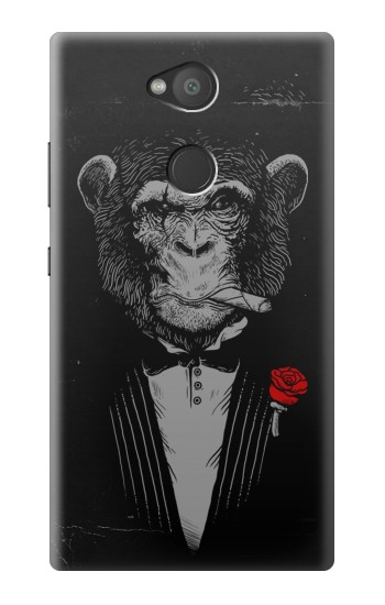 Printed Funny Monkey God Father Sony Xperia L2 Case
