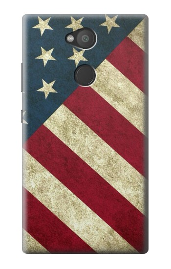 Printed US National Flag Sony Xperia L2 Case