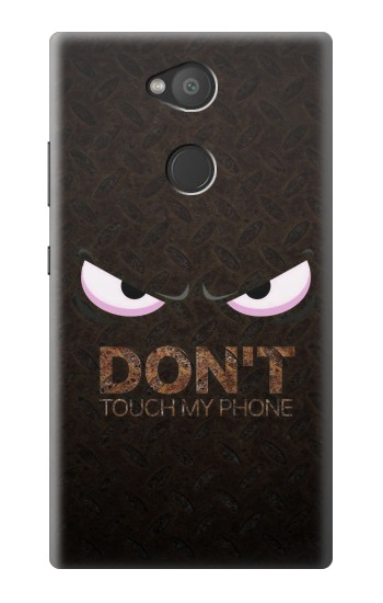 Printed Do Not Touch My Phone Sony Xperia L2 Case