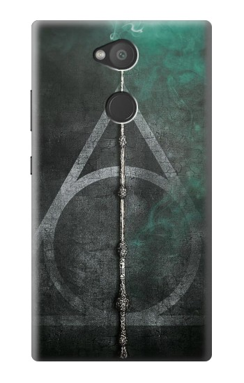 Printed Harry Potter Magic Wand Sony Xperia L2 Case