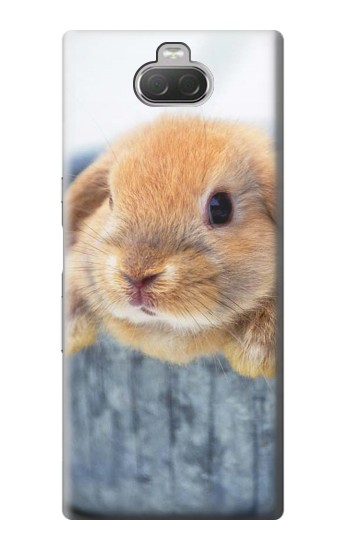 Printed Cute Rabbit Sony Xperia 10 Case
