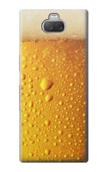 Printed Beer Glass Sony Xperia 10 Case