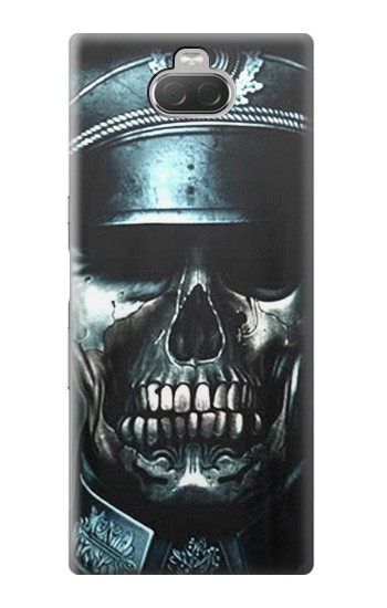 Printed Skull Soldier Zombie Sony Xperia 10 Case