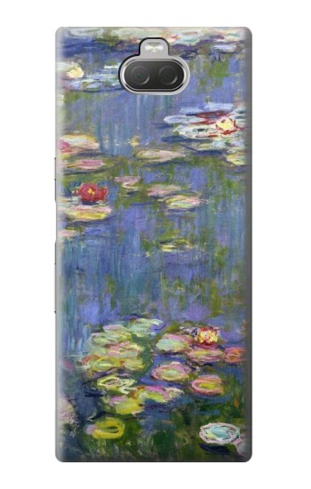 Printed Claude Monet Water Lilies Sony Xperia 10 Case