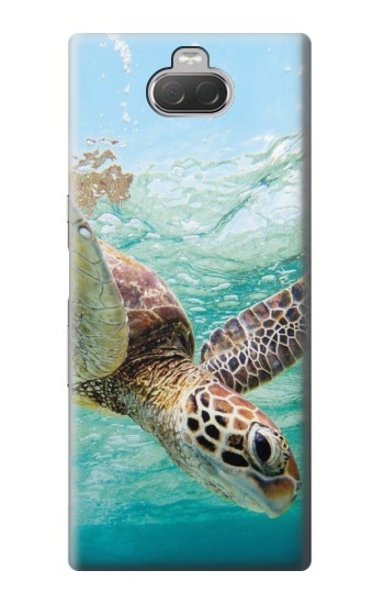 Printed Ocean Sea Turtle Sony Xperia 10 Case